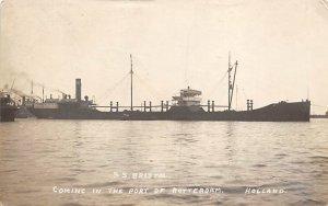 SS Bristol Holland Ship Unused