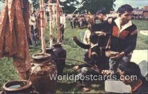 Vietnam, Viet Nam,  Nhân Vật Montagnard Ceremony , Montagnard Ceremony