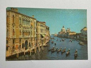 UNUSED VINTAGE POSTCARD - VENEZIA VENICE   CANAL GRAND  (KK2115)