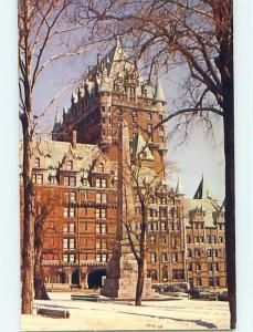 Unused Pre-1980 TOWN VIEW SCENE Quebec City QC p9120