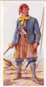 Carreras Vintage Cigarette Card Naval Uniforms No 9 Seaman Of 1663