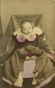 japan, Young Japanese Baby Boy (1906) Triumphant Military Review Yokkaichi (2)