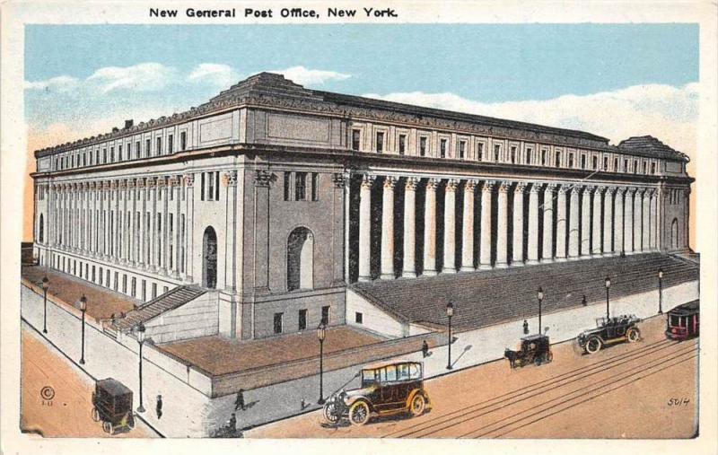New York City   New General Post Office