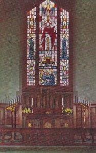 CARMEL, California, 1950-1960's; All Saints' Episcopal Church, The Altar
