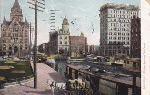 Clinton Square & Erie Canal , SYRACUSE , New York , PU-1908
