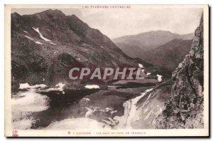 Old Postcard Luchon Laos Port Vaenasque
