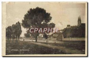 Old Postcard Praha Vysehrad