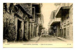 Colombia - Cartagena. Cochera Street
