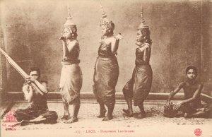 Indochine Laos Danseuses Laotiennes Vietnam Dancers 03.82