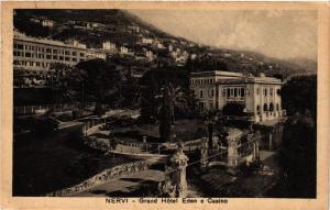 CPA NERVI Grand Hotel Eden e Casino ITALY (497900)
