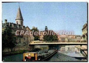 Modern Postcard Verdun Meuse Church St. Sauvenir and the Meuse