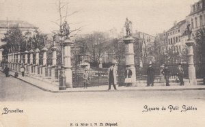 BRUXELLES , Belgium , 1901-07 ; Square du Petit Sablen