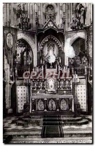 sarthe - Notre Dame du Chene - The Altar Master and the Miraculous Virgin Old...