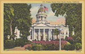 Fresno, Calif., Fresno County Court House - 1949