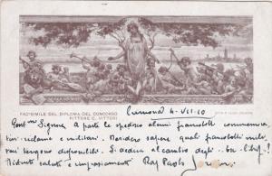 ITALY, PU-1922; Fac-Smile Del Diploma Del Concorso Pittore C. Vittori