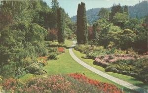 Canada, The Famous Sunken Gardens, Victoria, BC, unused P...