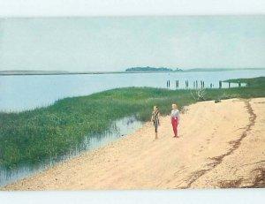 Pre-1980 NATURE SCENE Hilton Head Island South Carolina SC AD6256