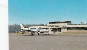 CHAUTAUQUA County  , NY , 1950-60s ; Airplane at Airport