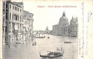 BR32834 Venezia Canal Grande dall Academia italy