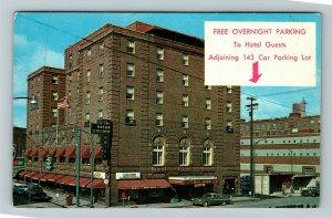 Corning NY- New York, Baron Steuben Motor Lodge, Advertising, Chrome Postcard