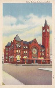 Indiana Indianapolis Union Station Curteich