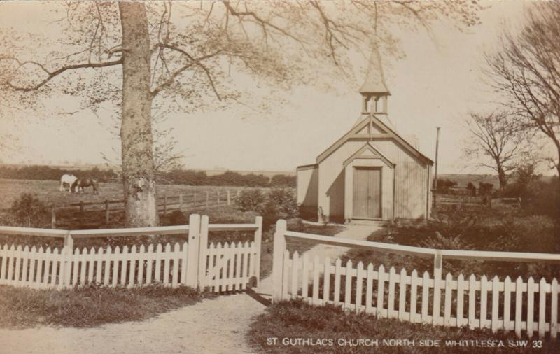 RP: WHITTLESEA , England , 1905 ; St Guthlacs Church
