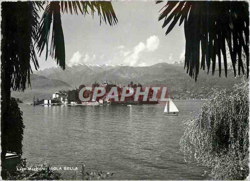 Modern Postcard Isola Bella Lago Maggiore