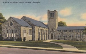 MACON , Georgia , 1930-40s ; First Christian Church
