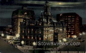 City Hall Detroit MI Unused