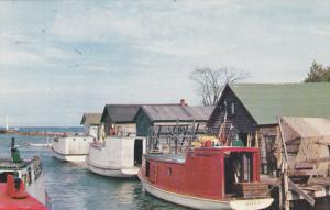 Michigan Fishing Village, Great Lakes, 40-60s