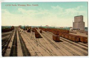 C.P.R. Yards, Winnipeg Man