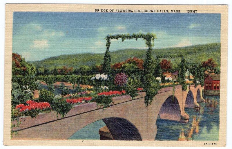 Shelburne Falls, Mass, Bridge Of Flowers