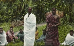 german east africa, Tanzania MACHAME, Native Chiefs Nkulelo and Shangali (1910s)