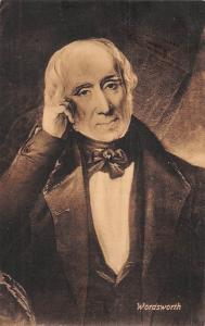 Poet (William) Wordsworth portrait, Postcard 1913