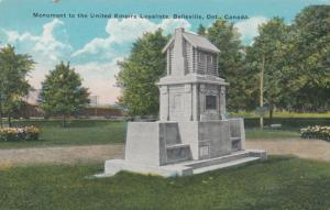 BELLEVILLE , Ontario , 1900-10s ; Monument to United Empire Loyalists