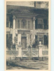 Unused 1935 Anniversary - Warner House CHESTER Connecticut CT d1060