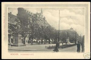 germany MUNICH MUENCHEN, Promenade Platz, Denkmahl 1899