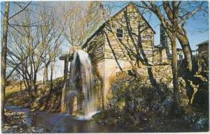 Golda's Old Mill at Bitting Springs near Tahlequah Oklahoma, OK, Chrome