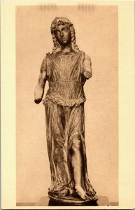 Sculpture, A Singing Angel by Pietro Lombardo Nat'l Gallery Vintage Postcard D56