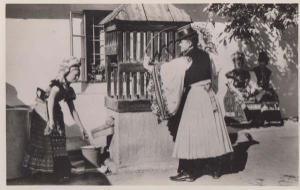 Mezokovesd Hungary Traditional Womens Dress Costume Fashion Real Photo Postcard