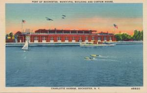Port of Rochester - Custom House - Charlotte Harbor, Rochester, New York - Linen