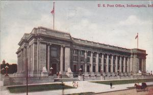 U. S. Post Office, INDIANAPOLIS, Indiana, 1900-1910s