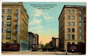 Nebraska St, NW RR Station, Sioux City Iowa