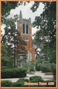 Michigan Lansing Beaumont Tower Michigan State University 1996
