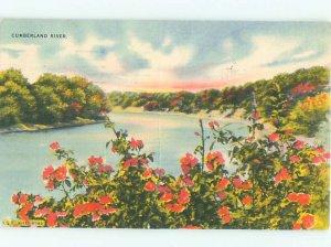 Linen RIVER SCENE Nashville Tennessee TN AE6336
