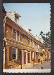 Elfreth's Alley Philadelphia PA Postcard BIN