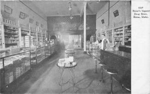 Boise Idaho Interior #5319 Biggest Drug Store 1907 Postcard 5669