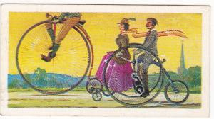 Trade Cards Brooke Bond Tea Transport Through The Ages No 8 The Bicycle