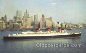 Cunard R.M.S. Queen Mary Ship Shps, Ocean Liners,  Postcard Postcards  Cunard...