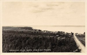 LPM42 Houghton Lake   Michigan RPPC Postcard
